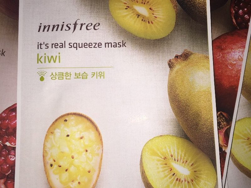 Innisfree It's Real Squeze Mask
